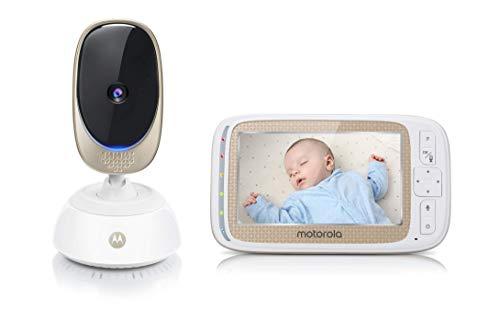 """Opiniones y precio del vigilabebesMotorola Baby Comfort 85 Connect – Video-Babyphone Wi-Fi con pantalla LCD a color de 5.0"""""""